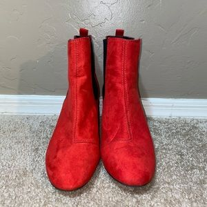 Red Booties!